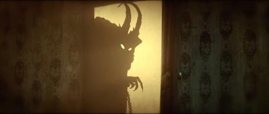 Escena del corto incluido en Krampus