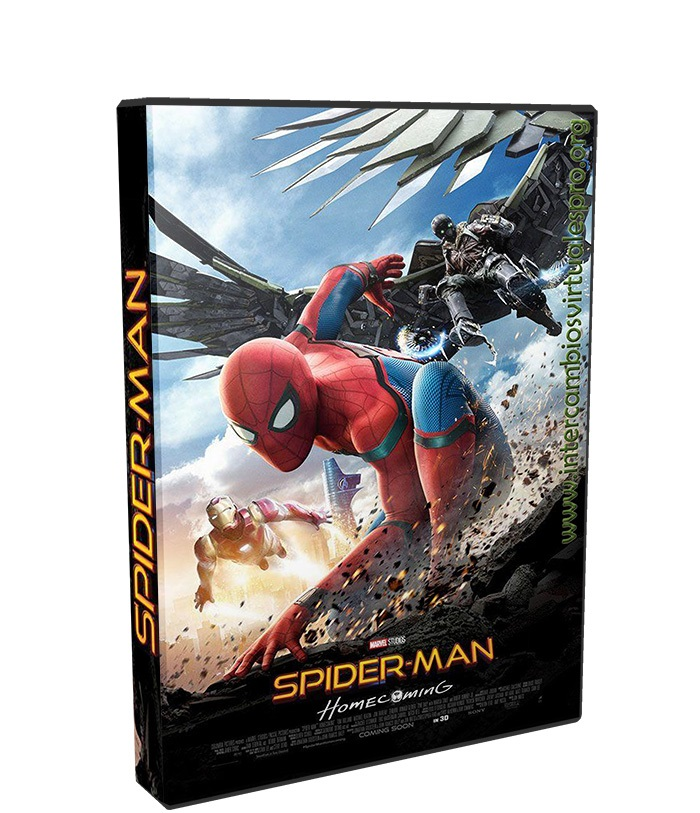 Spider-Man De regreso a casa poster box cover