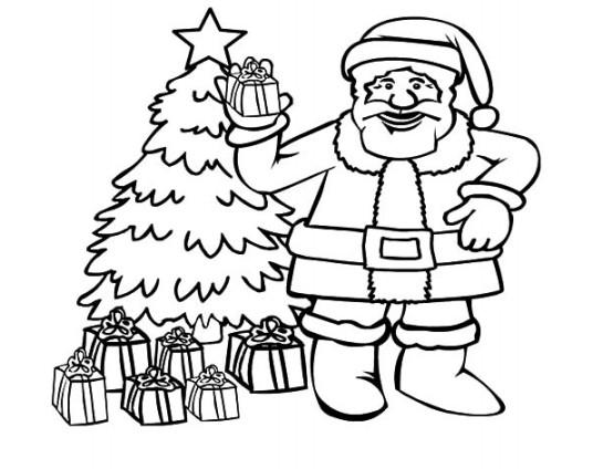 Gambar Mewarnai Natal Terbaru Gambarcoloring