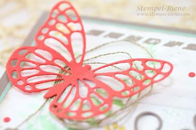 Stampin Up In Colors 2015-2017, Stampin Up Katalog 2015, Stampin up Schmetterlingsgruß, Stempel-biene, Stampin Up Bestellen, Stampin Up Demonstrator