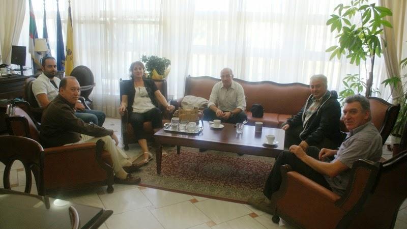 Ο Σύνδεσμος Γουνοποιών Καστοριάς επισκέφτηκε τον Αντιπεριφειάρχη Καστοριάς