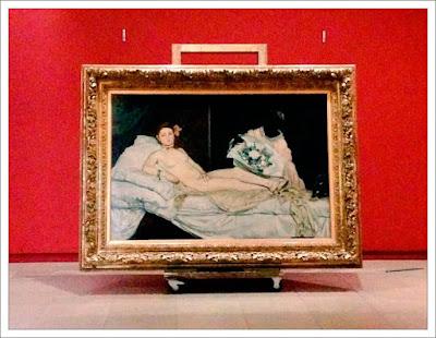 Олимпия Эдуарда Мане, музей орсе в париже