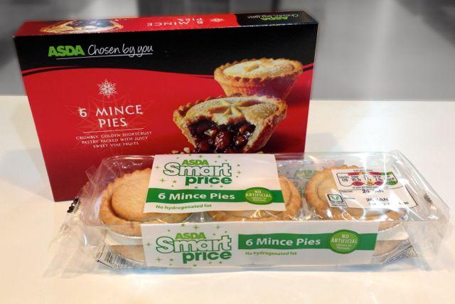 Veganoo Vegan Reviews More Vegan Mince Pies Asda Smart Price