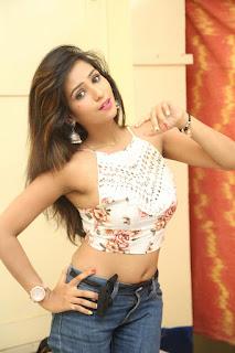 Deekshita Parvathi in a short crop top and Denim Jeans Spicy Pics Beautiful Actress Deekshita Parvathi January 2017 CelebxNext (148).JPG