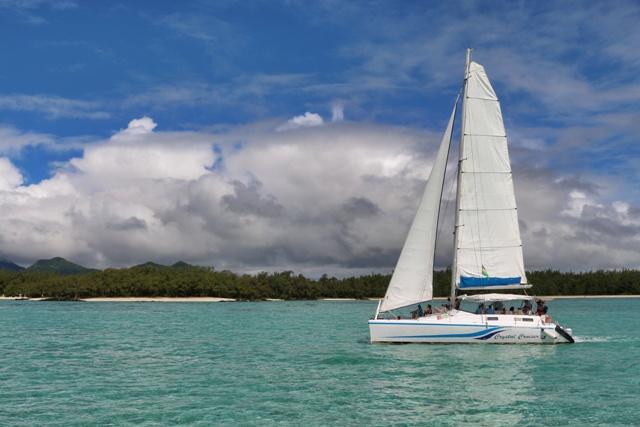 Ile Aux Cerfs, excursión a la Isla de los Ciervos en Catamarán