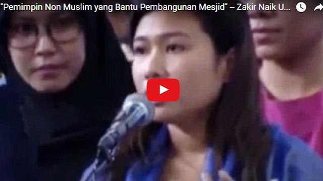 Di Video Ini, Zakir Naik Jawab Soal Pemimpin Non-Muslim Yang Bantu Bangun Masjid