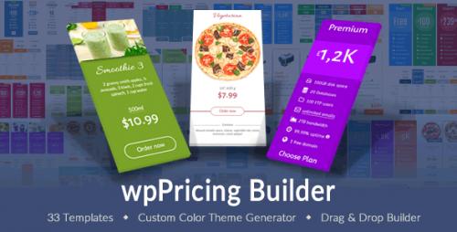 wpPricing Builder v1.4.9 – WordPress Responsive Pricing Tables