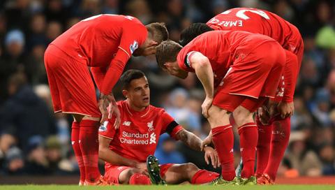 HLV Klopp không muốn mạo hiểm với chấn thương của Coutinho
