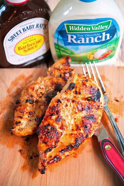 BBQ Ranch Grilled Chicken | Healthy Grilled Chicken Breast Recipes Perfect All Year Round | simple grilled chicken recipes
