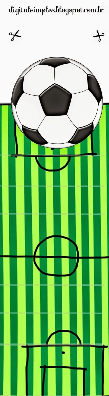 Futbol: Envoltorios Especiales para Golosinas, para Imprimir Gratis ...