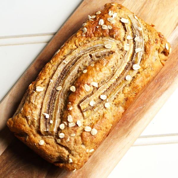 Healthy Banana Bread #Healthy #Banana #Bread #Cake #BakedCake