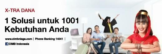 Kredit Tanpa Agunan CIMB NIAGA - Pinjaman Uang Tanpa Jaminan KTA CIMB NIAGA Bandung