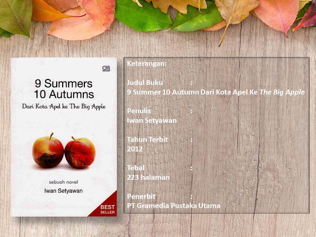 Review buku 9 Summer 10 Autumn : Dari Kota Apel ke The Big Apple