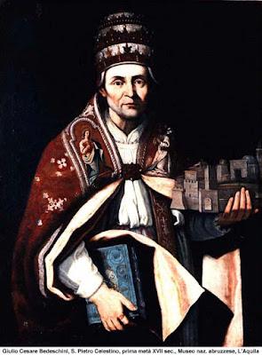 Giulio Cesare Bedeschini, S.Pietro Celestino, prima metà XVII sec., Museo Nazionale Abruzzese, L'Aquila.