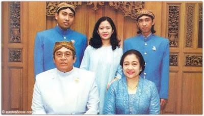 Megawati Soekarnoputri dan Keluarga