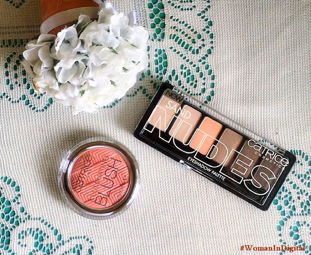 Catrice Illuminating Blush and Nudes Eyeshadow Palette