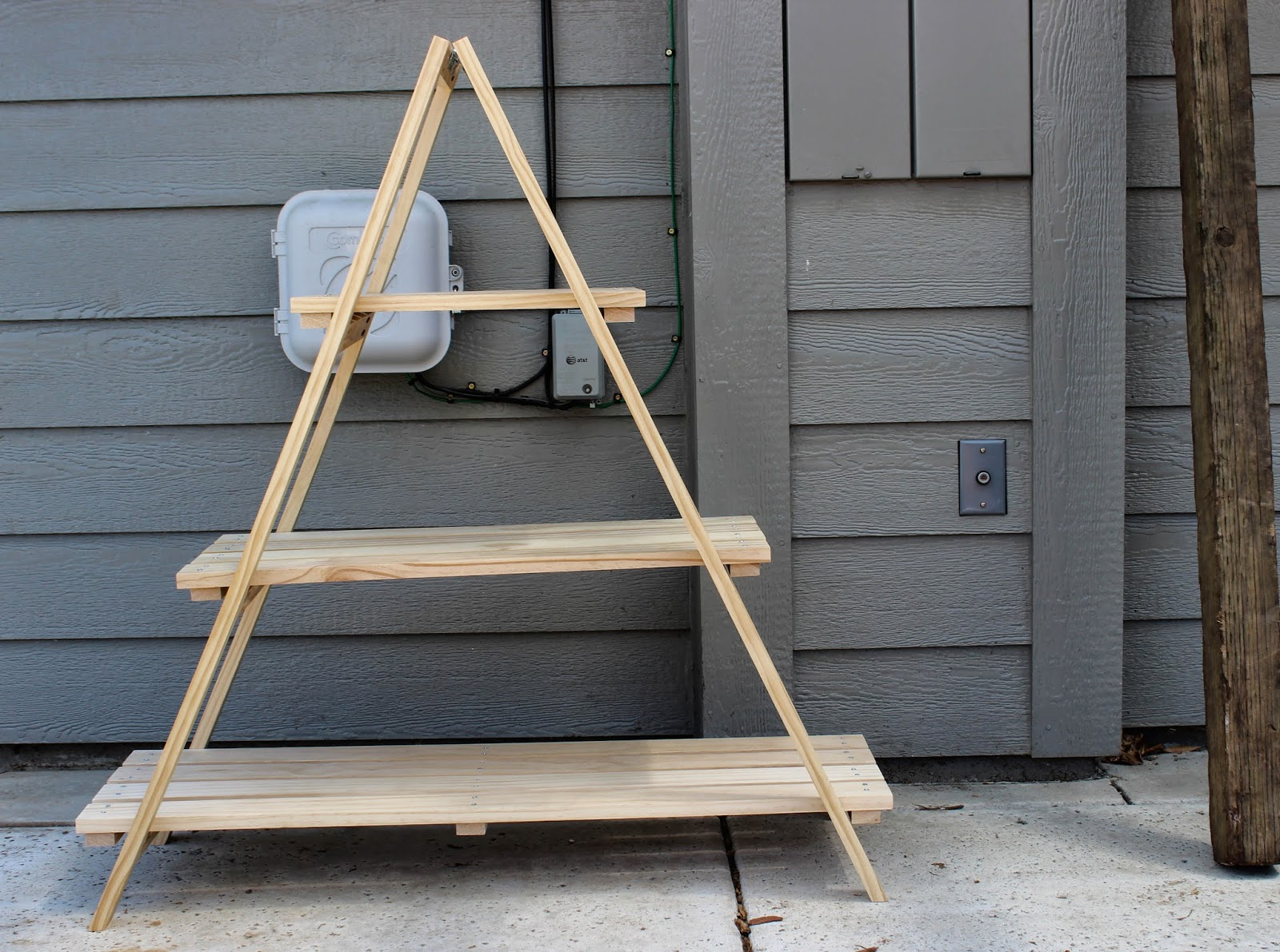 Build Plant Stand Woodwork How To Build An A Frame Plant Stand Pdf Plans