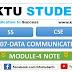 CS307 Data Communication Module-4 Note | S5 CSE