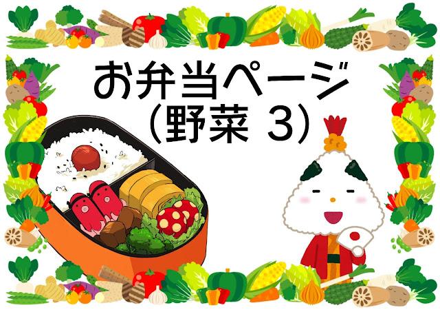 お弁当(野菜)3