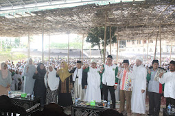 KH Maruf Amin Kunjungi Pontren Syaikh Zainuddin NW