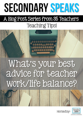 The main thing most teachers struggle with is that elusive concept of work/life balance. Our Secondary Speaks round up dives into this topic head-on and provides tips for setting limits, health, timing, and to-do lists. Click through to read all of the advice from real secondary teachers!