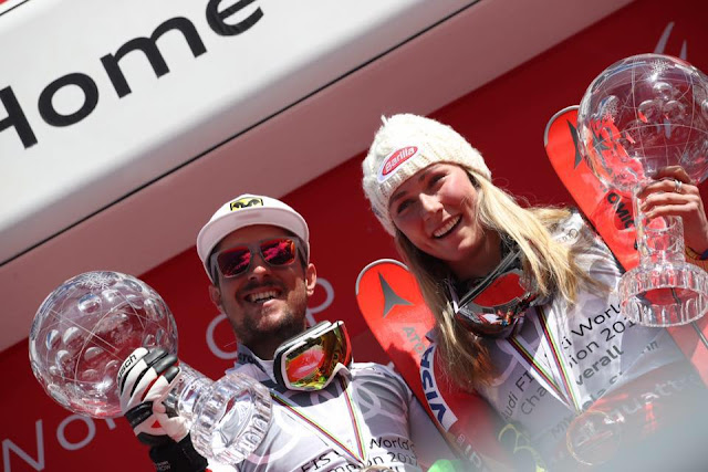 That s a Wrap. Mikaela Shiffrin & Marcel Hirscher Grabs the Overall Globe