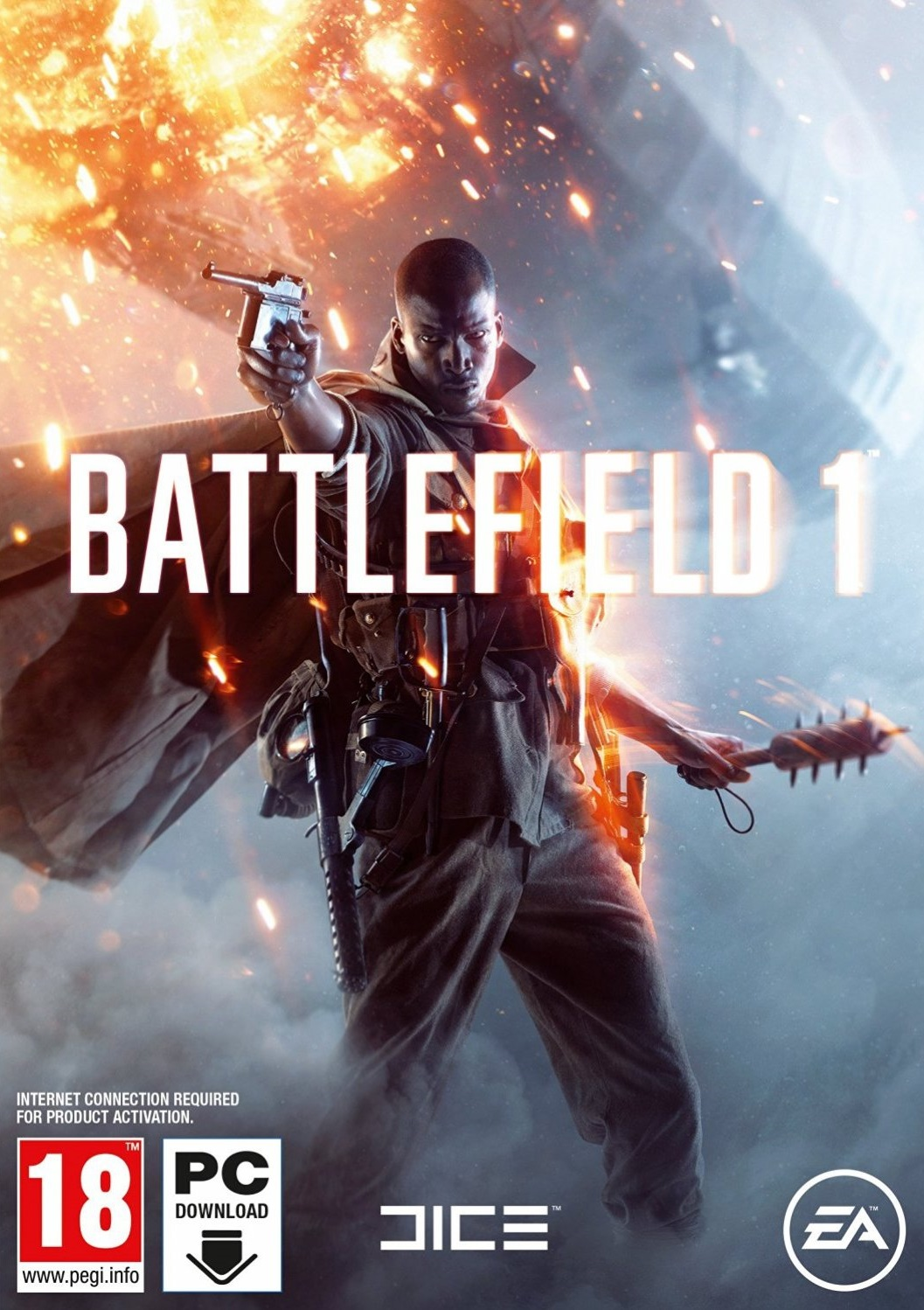 Battlefield 1 ESPAÑOL PC Cover Caratula