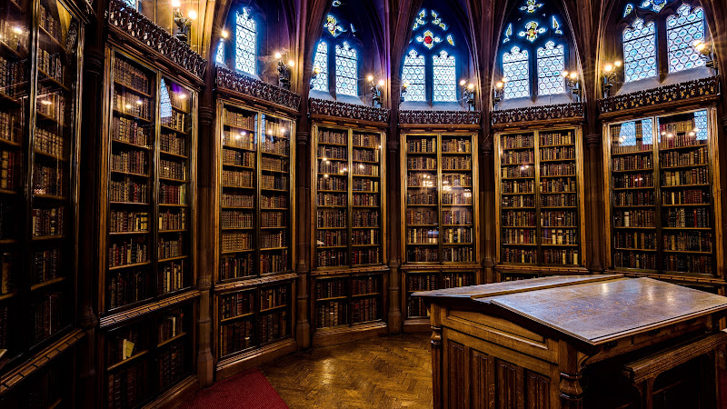 The Interior Design of John Rylands Library HD