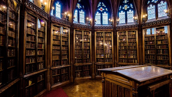 The Interior of John Rylands Library