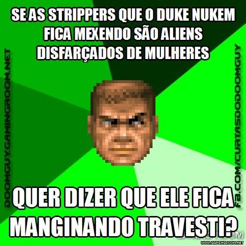 Conclusão lógica sobre o Duke Nukem