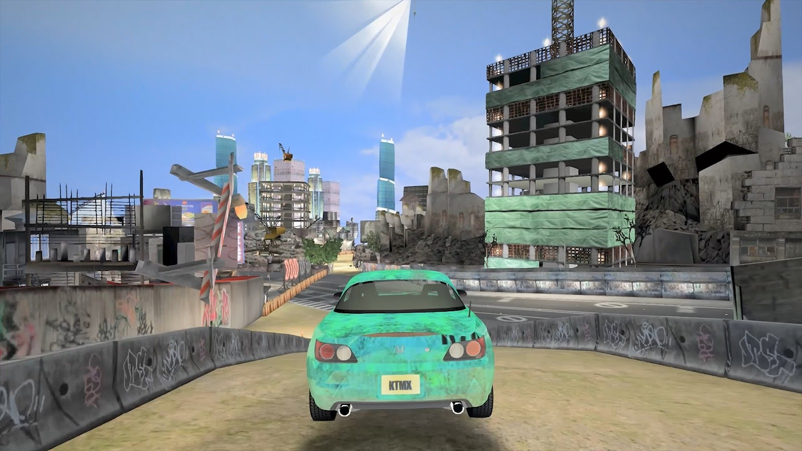 Need for Speed Underground Day Time Mod KTMXHancer Graphics