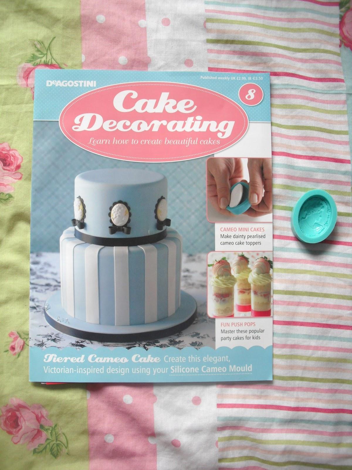 Cake Decorating Magazine Issue 8 - Free Cameo Mould ...
