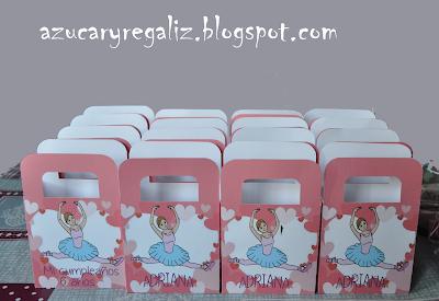Cajitas dulces azucaryregaliz