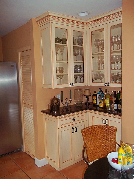 Painting Kitchen Cabinets Before and After   Everything I ...