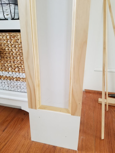 adding glass bead around door trim