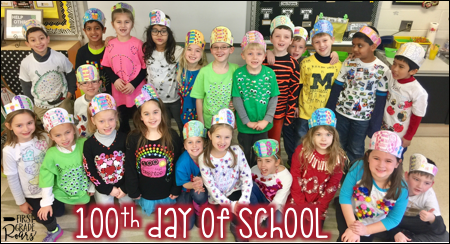 100th Day Full of Memories - First Grade Roars!