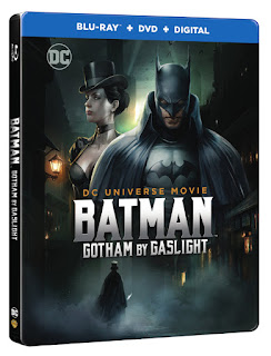 Warner Bros Home Video DC Comics Batman Gotham By Gaslight Animated Film