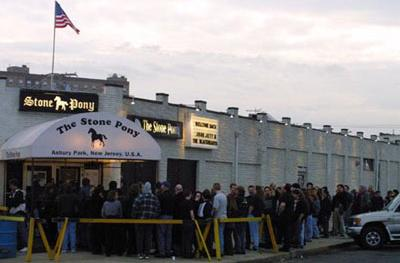The legendary Stone Pony rock club Asbury Park, New Jersey