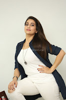 Manjusha in White Tight T Shirt and Black Jacket ~  Exclusive Celebrities Galleries 014.JPG