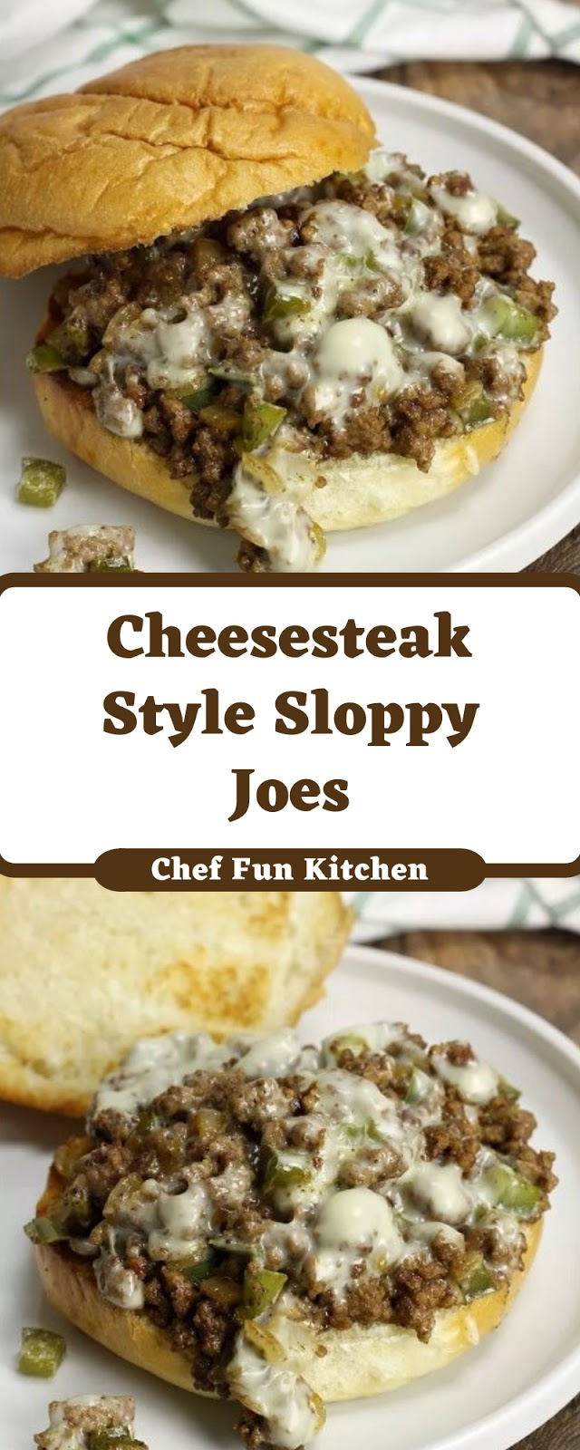 Cheesesteak Style Sloppy Joes