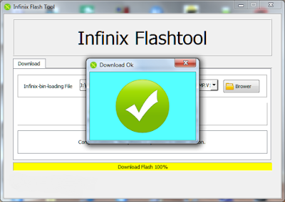 Cara Flashing Infinix Race Jet X501 dengan mudah
