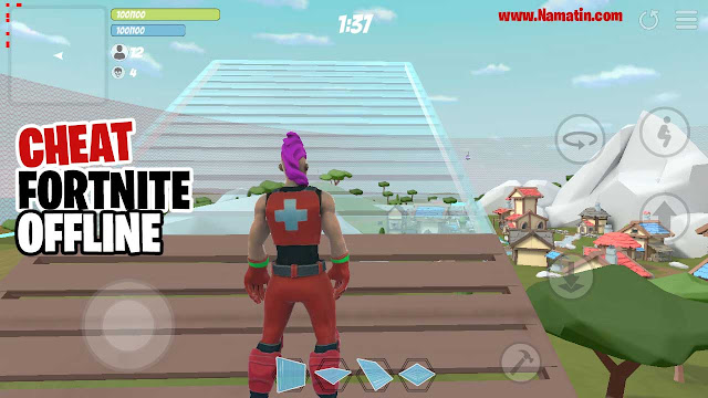 cheat fortnite offline android tanpa root