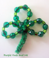 Beaded-Shamrocks
