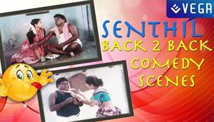 Aayusu Nooru Tamil Movie    Senthil Funny Back 2 Back Comedy Scenes