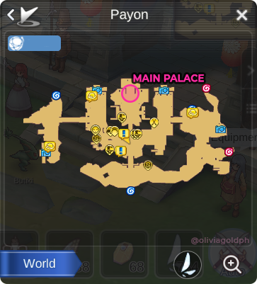 Ragnarok Mobile Guides: Payon Hidden Scenery