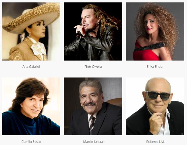 Latin Songwriters Hall Of Fame (Salón De La Fama De Los Compositores Latinos) Anuncio Los Ingresados Al Salon De La Fama Del 2017