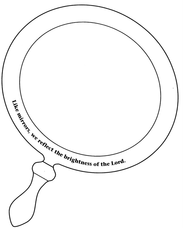 Mirror images coloring pages ~ ELEMENTARY SCHOOL ENRICHMENT ACTIVITIES: HOLY SPIRIT ...