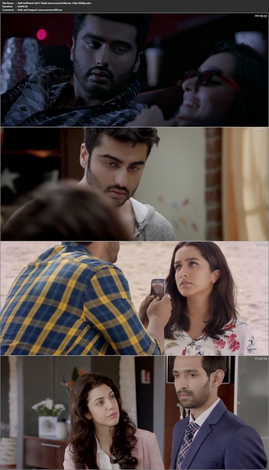Half Girlfriend 2017 Full Movie Hindi HDRip 720p at movies500.info