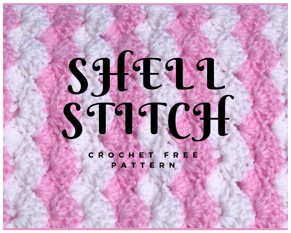 Crochet Baby Blanket Shell Stitch Crochet Designs And Free Patterns